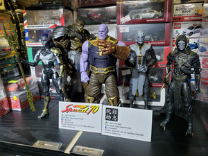 Complete set of 5 Marvel Legends 1/12 Avengers Infinity War Black Order Thanos , Proxima Midnight , Cull , Ebony Maw and Corvus