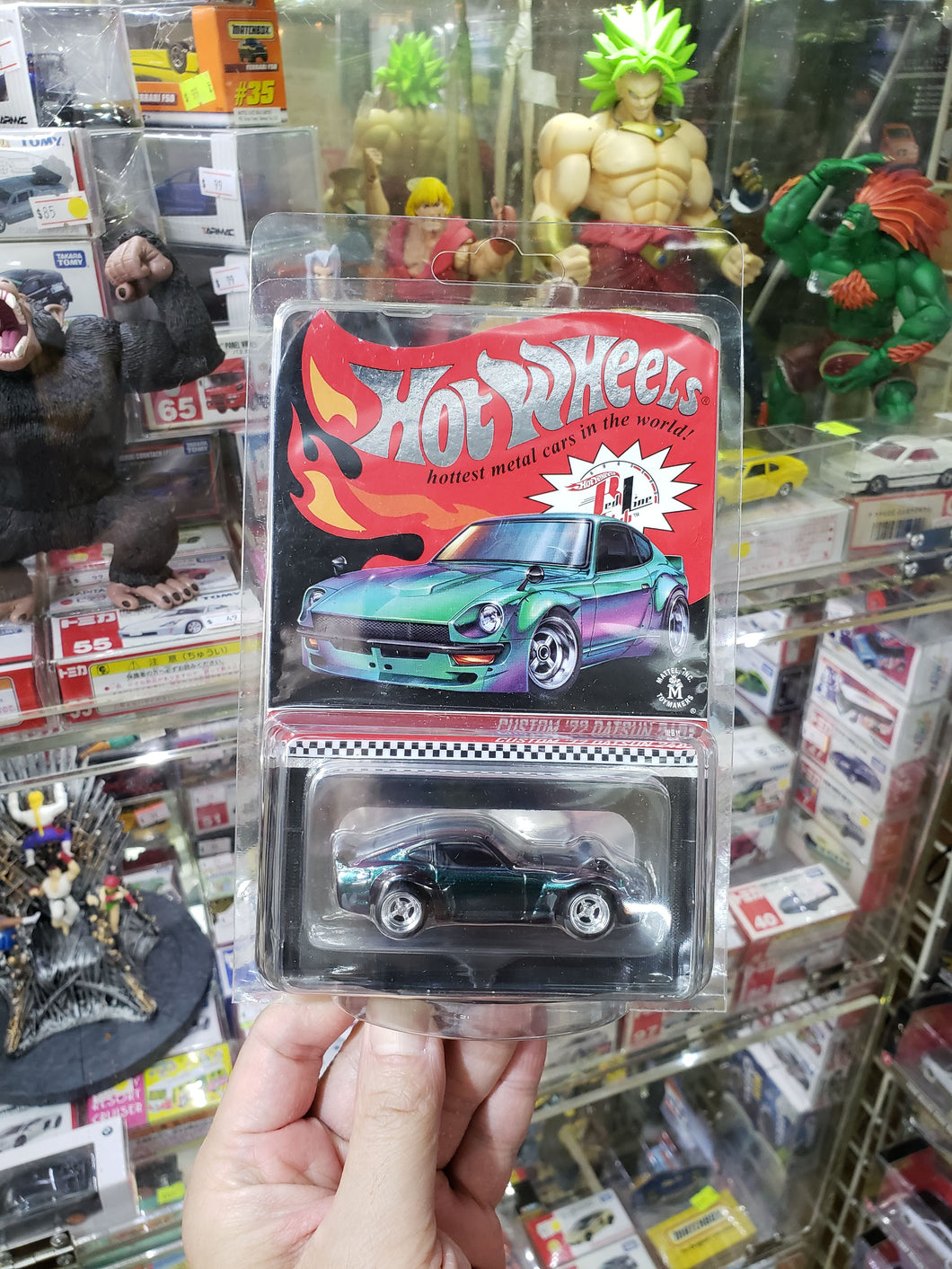 2019 Hot Wheels RLC Custom 72 Datsun 240Z Chameleon #07331/10,000 Real Riders