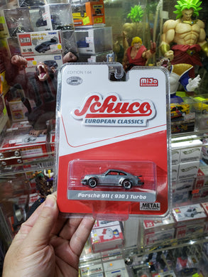 Schuco 1/64 Mijo Exclusive Raw Chase Porsche 911 ( 930 ) Turbo