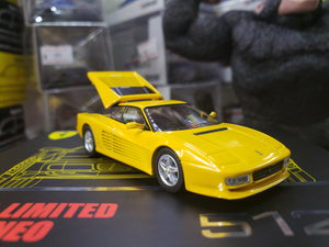 Tomica Limited Vintage Neo 1/64 Ferrari 512 TR Yellow Japan Exclusive
