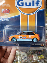 Load image into Gallery viewer, Johnny Lightning 1/64 Mijo Exclusives Fueled Facts Gulf Honda Civic EK9