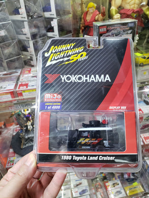 Johnny Lightning 1/64 Mijo Exclusives Yokohama 1980 Land Cruiser