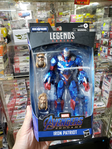 Marvel Legends Built A Figure Iron Patriot