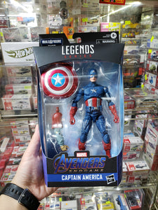 Marvel Legends Built A Figure Captain America