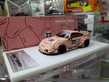 Load image into Gallery viewer, FuelMe Models 1/64 Pocket Garage Porsche 911 (993) Raul Welt Begriff Sopranos Pink Pig FM64001-RW-993B