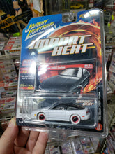 Load image into Gallery viewer, Johnny Lightning Import Heat 1990 Nissan 240SX Custom White Lightning Chase