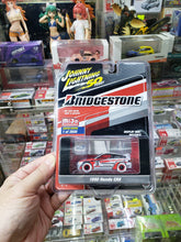 Load image into Gallery viewer, WHITE CHASE Johnny Lightning 1/64 50 Years Bridgestone Mijo 1990 Honda CRX