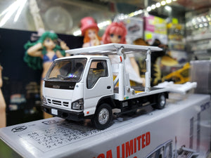 Tomica Limited Vintage 1/64 TLV Isuzu ELF Safety Loader Big Wide LV-N191a