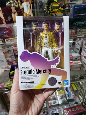 Bandai S.H. Figuarts Freddie Mercury Queen New Reissue Figure