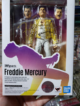 Load image into Gallery viewer, Bandai S.H. Figuarts Freddie Mercury Queen New Reissue Figure
