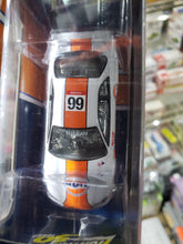 Load image into Gallery viewer, Johnny Lightning 1/64 Gulf Mijo Exclusive 1999 Nissan Skyline GT-R BNR34 White Lightning Chase