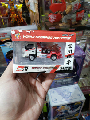 Tiny Hino 300 World Champion Tow Truck Giveaway Only Boss Version