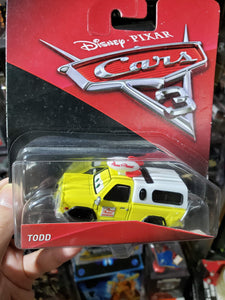 Disney PIXAR Cars 3 Diecast 1:55 TODD Pizza Planet