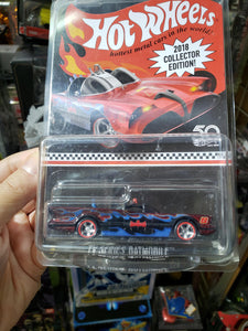 Hot Wheels Kmart Mail In 2018 Collector Edition TV Series Batmobile HK Toysrus Promo