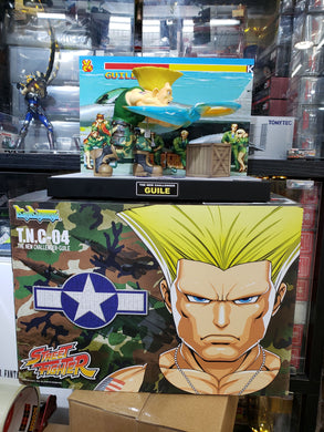 Big Boys Toys Street Fighter Figure TNC-04 Guile Sonic Boom with Designer's Autograph ( Free Shipping Worldwide !!! )
