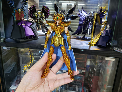 Bandai Saint Seiya Cloth Myth EX Gold Leo Aiolia Revival Version Action Figure ( Free Shipping Worldwide !!! )