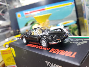 TOMICA LIMITED VINTAGE NEO 1/64 Ferrari Dino 246GTS Convertible Black