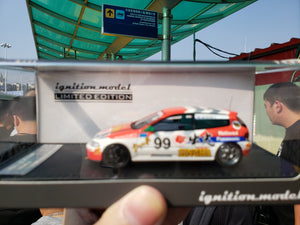 ig ignition  Model 1/43 Honda Civic EG6 Motion #99 ig1883 ( Free Shipping Worldwide  )