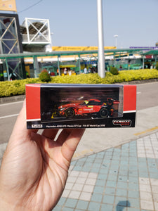Tarmac Works 1/64 Mercedes-AMG GT3 No.888 Team GruppeM Racing 2nd FIA GT World Cup Macau 2018 Maro Engel