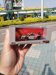 Tarmac Works Audi R8 LMS FIA GT World Cup 2016 Edoardo Mortara (T64-007-MGP16EM) Macau GP 2019 Exclusive