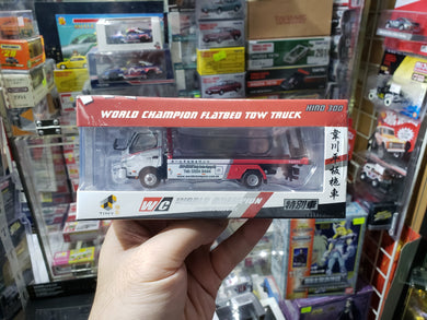 Tiny 1/76 World Champion Flatbed Tow Truck Hino 300