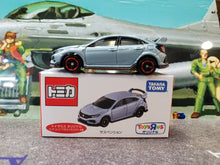 Load image into Gallery viewer, Tomy Tomica 1/64 Honda Civic Type R FK8 Japan Toysrus Navy Blue with Suspension