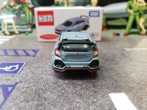 Tomy Tomica 1/64 Honda Civic Type R FK8 Japan Toysrus Navy Blue with Suspension