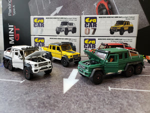 EraCar 06 1/64 Mercedes Benz G63 Amg 6x6 Yellow