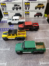 Load image into Gallery viewer, EraCar 06 1/64 Mercedes Benz G63 Amg 6x6 Yellow