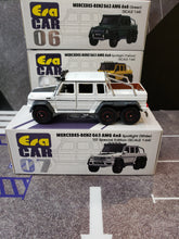 Load image into Gallery viewer, EraCar 06 1/64 Mercedes Benz G63 Amg 6x6 White