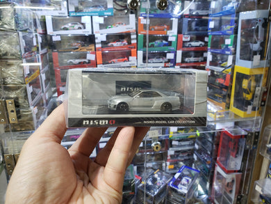 ignition model ig 1/64 Die Cast Model NISMO R34 GT-R Z-tune silver Japan Fuji Speedway Nismo Exclusive