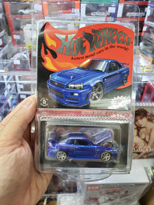 2019 Hot Wheels Red Line Club Exclusive 2001 NISSAN SKYLINE GT-R BNR34