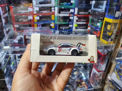 Spark Model 1/64 Y136 Porsche 911 RSR No. 912 GT Team 24H Daytona 2019