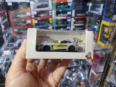 Spark Model 1/64 Y157 Mercedes AMG GT3 No.48 Team Driving Academy Winner FIA GT World Cup Macau 2017