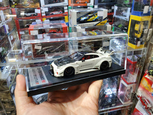 1/43 Make Up LBWK LB Works Performance Nissan GTR R35 White 2020 Tokyo Auto Salon Exclusive ( Free Shipping Worldwide !!! )