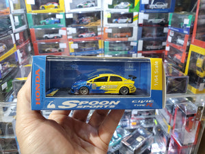 YM Model 1/64 Honda Civic Type R Spoon Sports