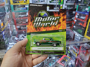 Greenlight 1/64 1955 Chevrolet Belair Green Machine Chase