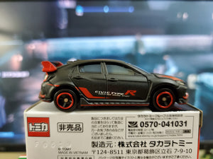 Takara 1/64 Tomy Tomica Honda Customer Racing Study 2018 Civic Type R