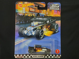 Hot Wheels 1/64 Boulevard Bone Shaker HK Card