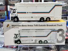 Load image into Gallery viewer, 1/87 TINY Mercedes Benz Antos TVB Outside Broadcast Hong Kong