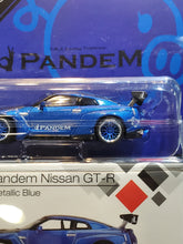Load image into Gallery viewer, MiniGT Mini GT 1/64 No.96 Liberty Walk LB Works Nissan GTR R35 Metallic Blue Japan Toysrus