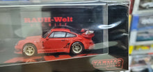Load image into Gallery viewer, Tarmac Works 1/64 Porsche 930 RWB Rauh-Welt Begriff Red Painkiller Thailand Auto Salon Exclusive