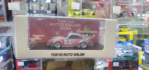 MCE 1/64 RWB Porsche 911 993 Resin Made Model Tokyo Auto Salon Exclusive ( Martini )