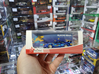FuelMe 1/64 Porsche 993 RWB Royal Ocean Resin Made Model