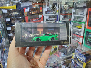 MCE 1/64 RWB Porsche 911 993 Resin Made Model Suncity Group ( Green )