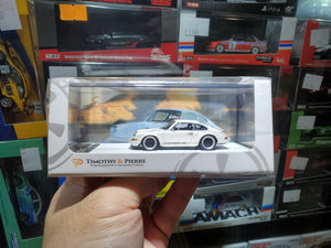 1:64 Timothy & Pierre Porsche Singer 911 964 Resin Made Model Car ( Pearl White )