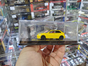 Tarmac Works 1/64 Honda Civic Type R EK9 Yellow Non-Official / Licensed Sample