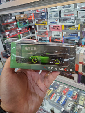MCE 1/64 Project C Tanner Fox Nissan GTR Taiwan Exclusive Resin Car Model