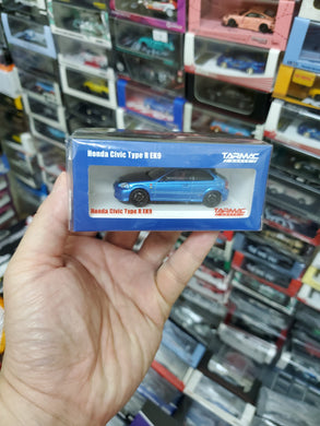 Tarmac Works 1:64 Honda Civic Type R EK9 Mini Car Festival Hong Kong Exclusive