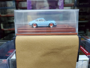 Make Up 1/64 Singer Titan Porsche 911 ( 964 ) Coupe TM001A Gulf Blue
